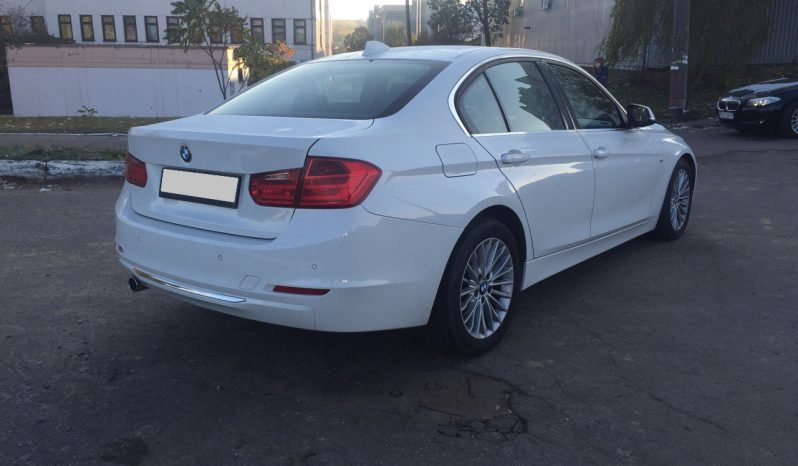Car BMW 320 F30 for rent in Minsk full