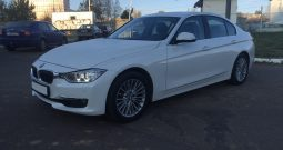 Car BMW 320 F30 for rent in Minsk