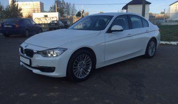 Автомобиль BMW 320 F30 напрокат в Минске