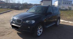 Автомобиль BMW X5 напрокат в Минске
