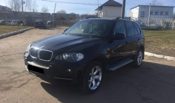 Car BMW X5 for rent in Minsk