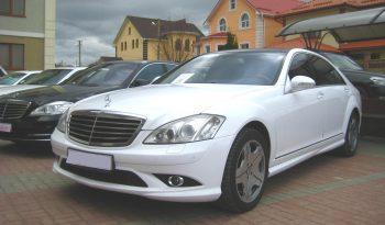 Аренда авто с водителем Mercedes S-Class W221 Long напрокат в Минске full