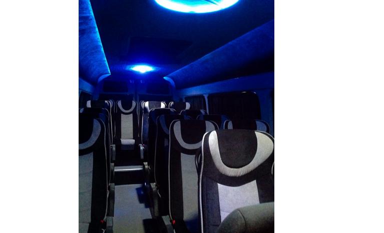 Аренда микроавтобуса с водителем Mercedes Sprinter 21 место напрокат в Минске full