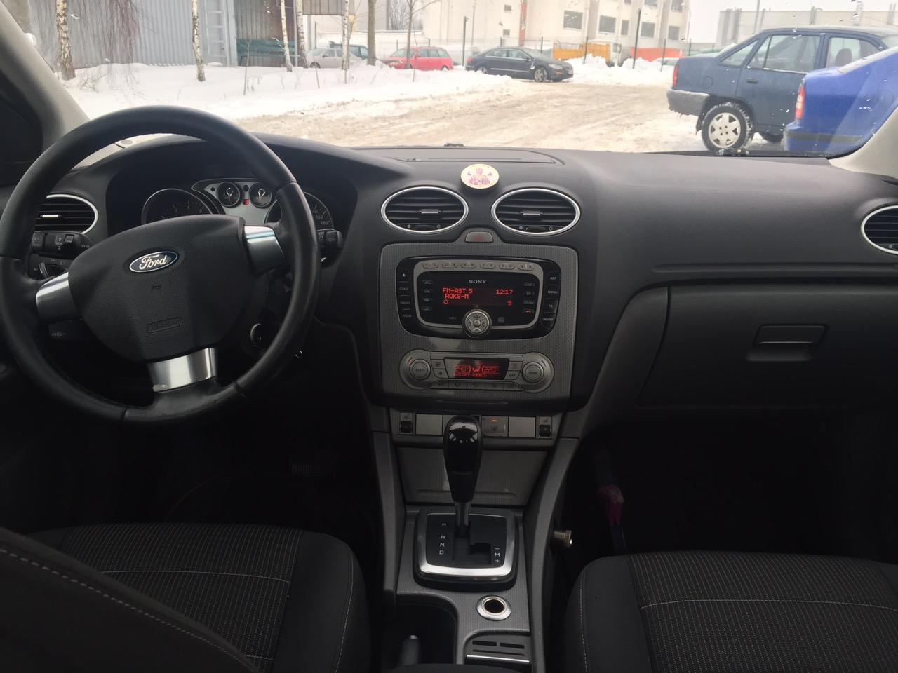 аренда и прокат Ford Focus в Минске 4