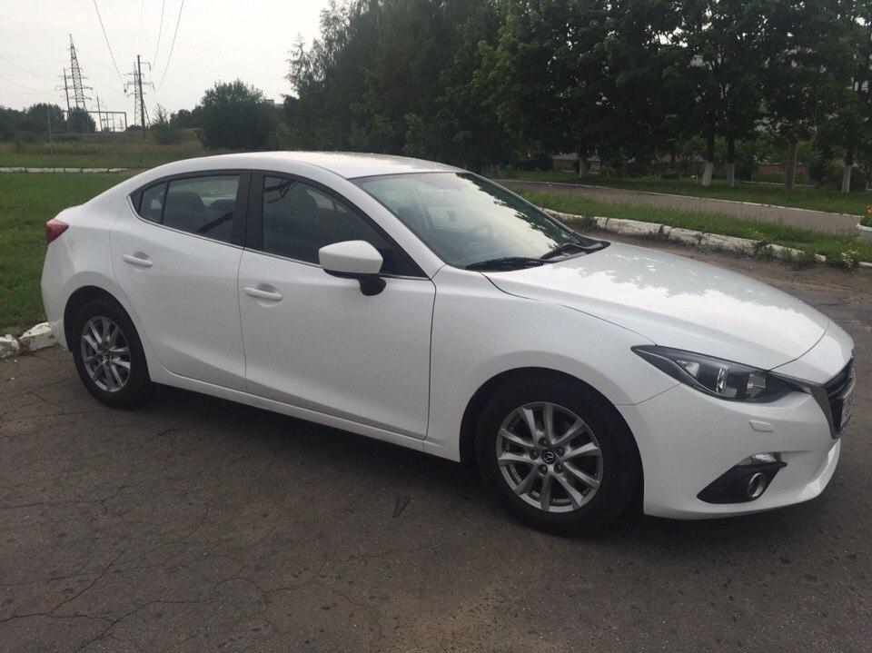 аренда и прокат Mazda 3 в Минске 4