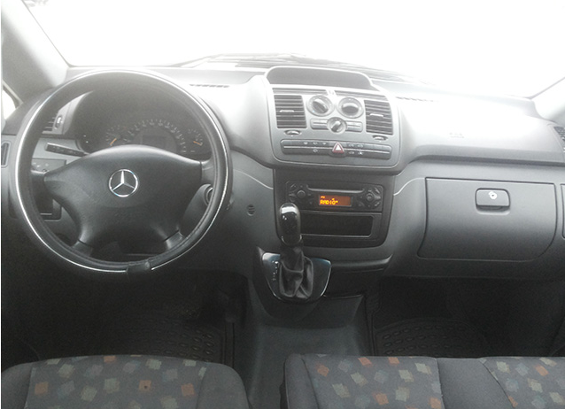 Автомобиль Mercedes Vito Long напрокат в Минске full