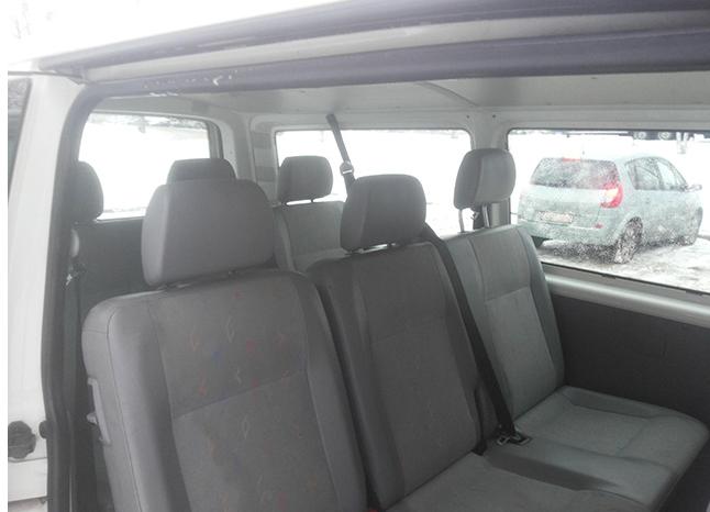 Автомобиль Volkswagen Transporter T5 напрокат в Минске full