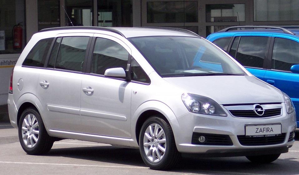 аренда и прокат Opel Zafira в Минске
