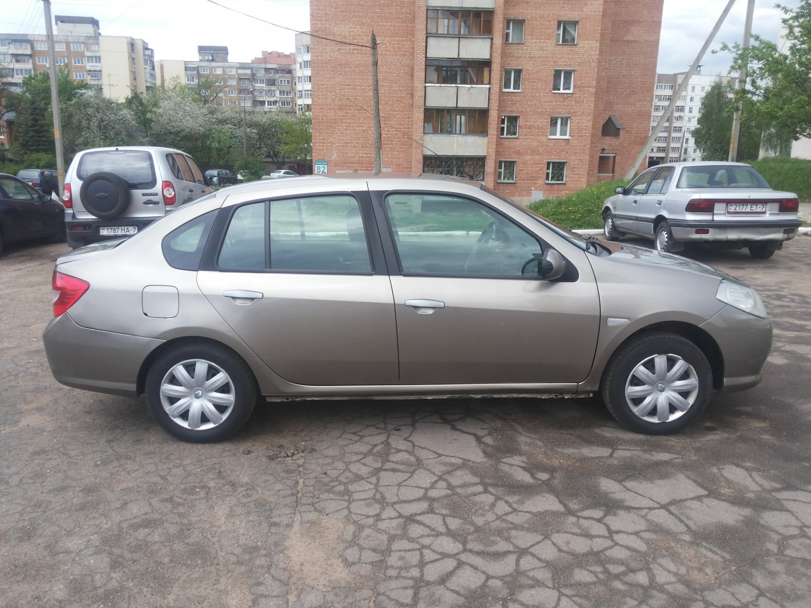 аренда и прокат Renault Symbol в Минске 2