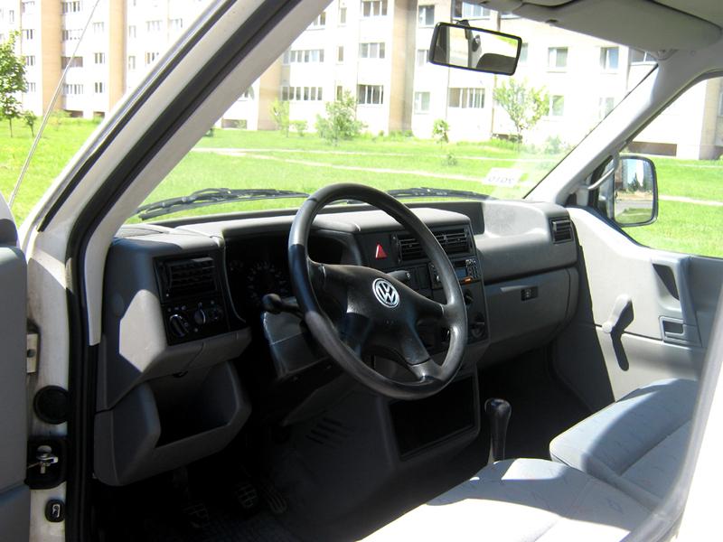 аренда и прокат Volkswagen Transporter T4 в Минске 2