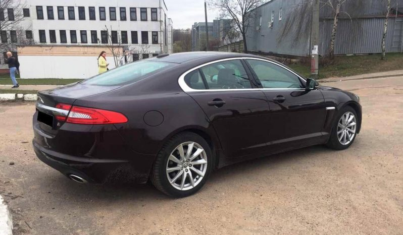 Rent a car Jaguar XF in Minsk full