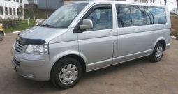 Автомобиль Volkswagen Caravelle T5 напрокат в Минске