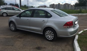 Car rent in Minsk Volkswagen Polo full