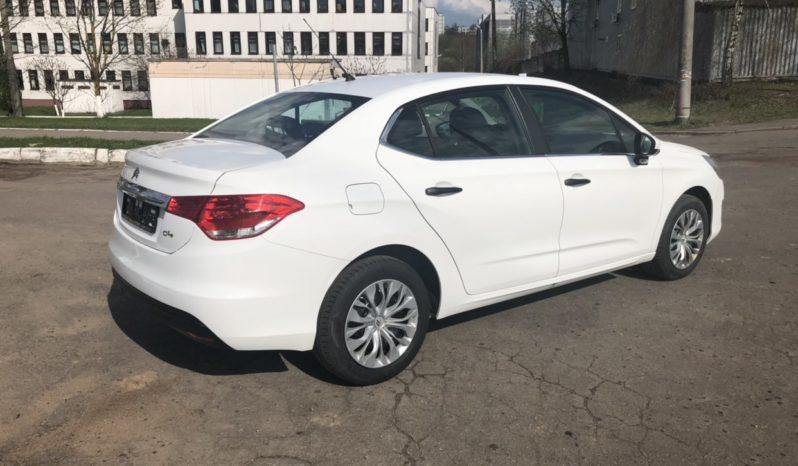 Прокат авто в Минске – Citroen C4 full