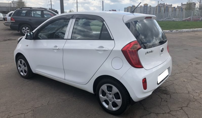 Аренда авто Kia Picanto в Минске недорого full