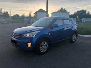 Аренда авто Hyundai Creta в Минске