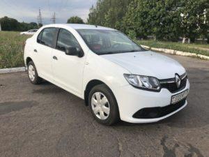 Прокат авто Renault Logan в Минске