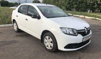 Прокат авто Renault Logan в Минске full