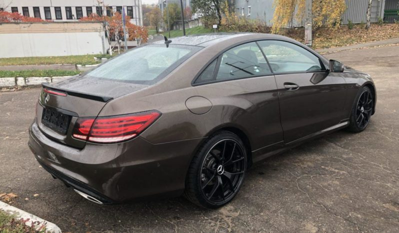 Mercedes-Benz E-class AMG купе напрокат в Минске full