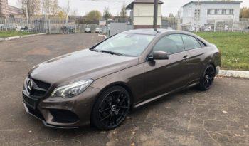 Mercedes-Benz E-class AMG купе напрокат в Минске