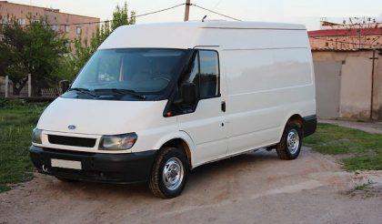 Микроавтобус грузовой (до 3,5т) Ford Transit груз. (Форд Транзит) 2005 года.