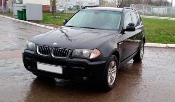 аренда и прокат авто в минске BMW X3