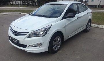 аренда и прокат Hyundai solaris в Минске