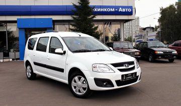 аренда и прокат Lada Largus 7 мест в Минске
