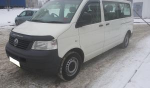 аренда и прокат микроавтобуса volkswagen transporter t5 в минске