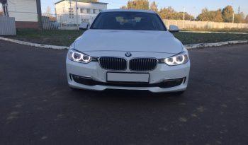 Car BMW 320 F30 for rent in Minsk full