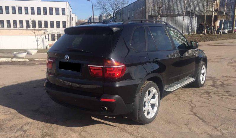 Автомобиль BMW X5 напрокат в Минске full