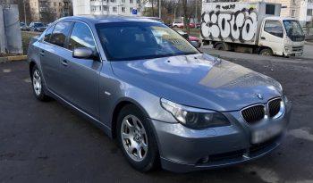 Автомобиль BMW 525 напрокат в Минске full