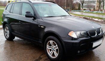 Автомобиль BMW X3 напрокат в Минске full