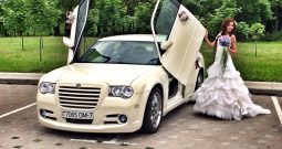 Аренда авто с водителем Крайслер 300С белый! напрокат в Минске