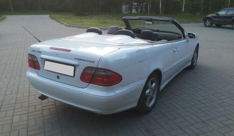 Автомобиль Mercedes CLK 230 напрокат в Минске full