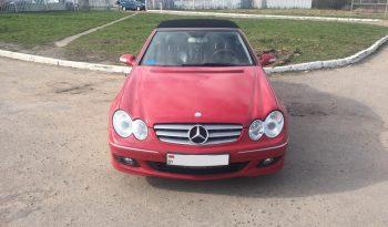 Автомобиль Mercedes CLK 350 кабриолет напрокат в Минске full