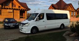 Аренда микроавтобуса с водителем Mercedes Sprinter 21 место напрокат в Минске