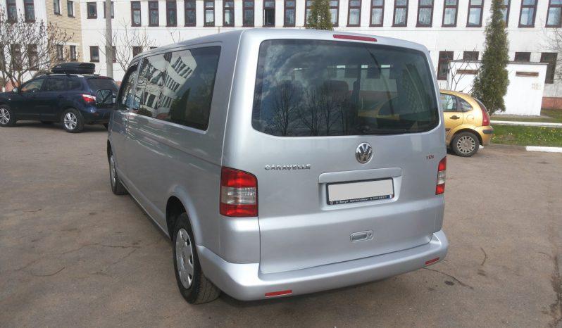 Автомобиль Volkswagen Caravelle T5 напрокат в Минске full