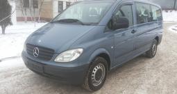 Автомобиль Mercedes Vito Long напрокат в Минске