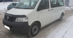 Автомобиль Volkswagen Transporter T5 напрокат в Минске