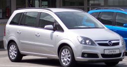 Автомобиль Opel Zafira напрокат в Минске