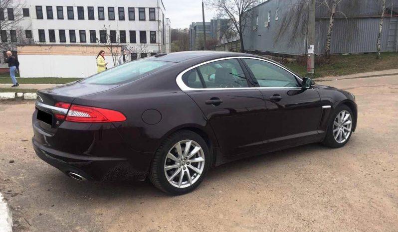 Автомобиль Jaguar XF напрокат в Минске full