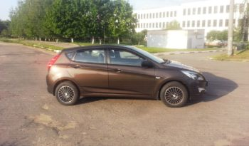 Автомобиль Hyundai Solaris напрокат в Минске full