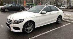Автомобиль Mercedes-Benz C-class AMG напрокат в Минске